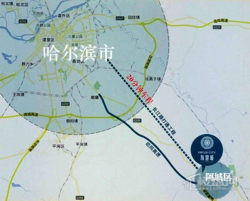 海富城交通图
