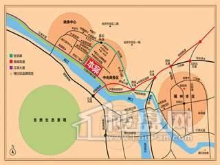 博仕后龙港城交通图