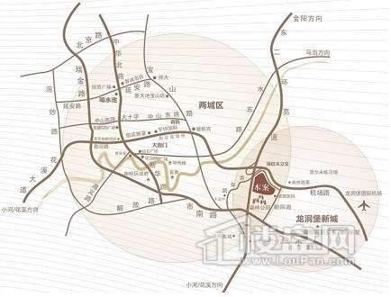 弘宇琉森堡交通图