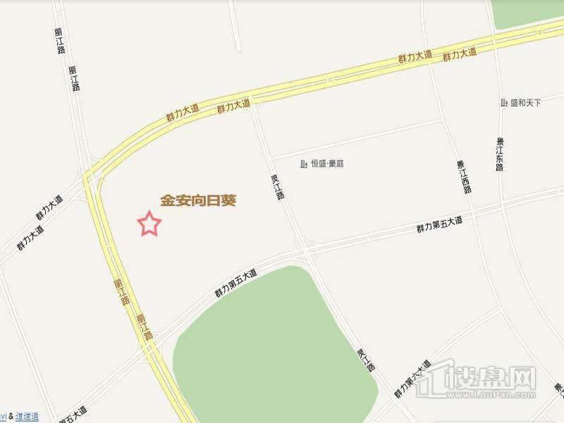 金安向日葵交通图