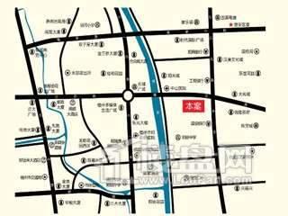福晟钱隆大第交通图