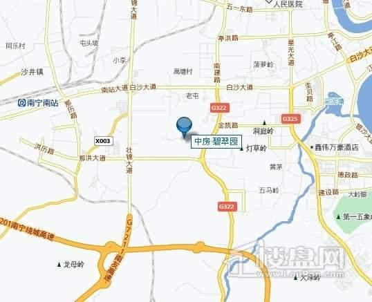 中房碧翠园交通图