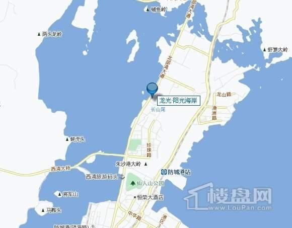 龙光阳光海岸交通图