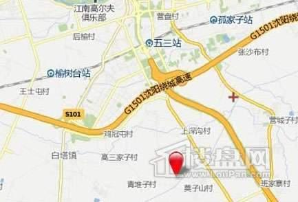金道城交通图