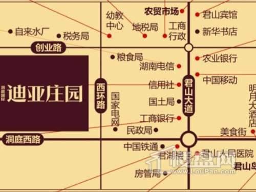 迪亚庄园交通图