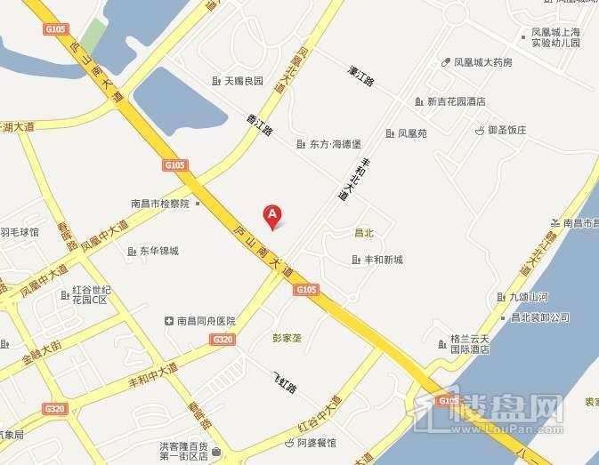 铜锣湾国际广场交通图
