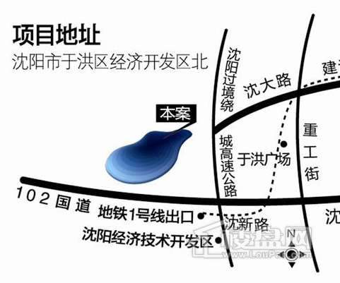 俪锦城交通图