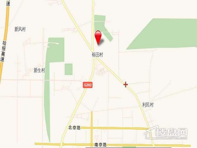 枫林溪语交通图