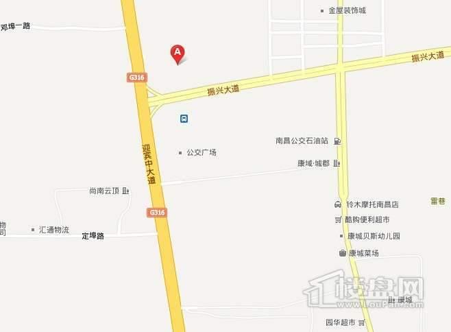 月星国际建材家居生活广场交通图
