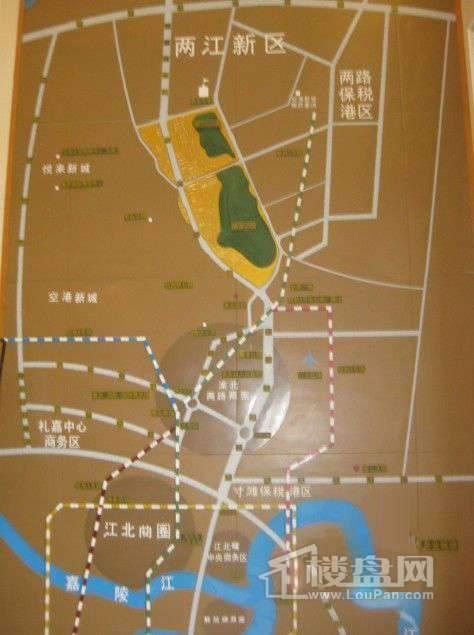 重庆桃源居国际花园位置图