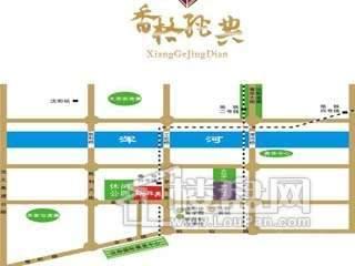 庆大香格经典交通图