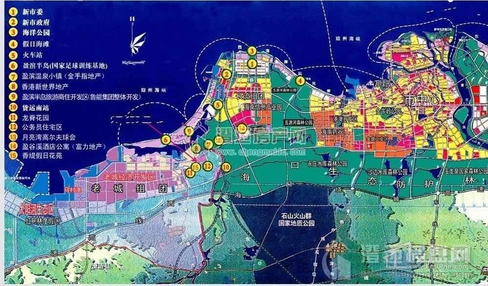 后海温泉小镇交通图