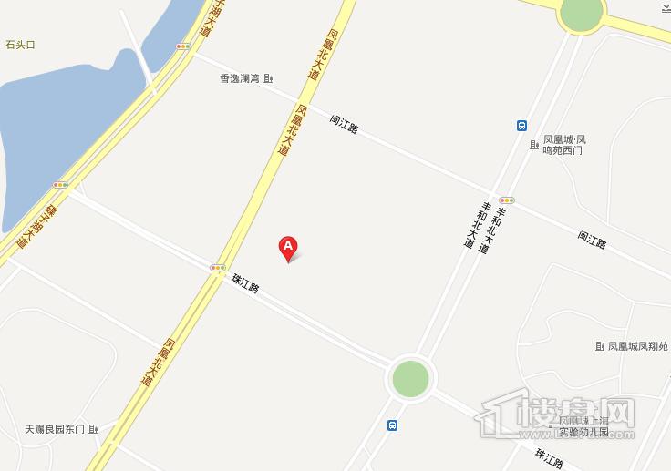 商城·凤凰印象交通图