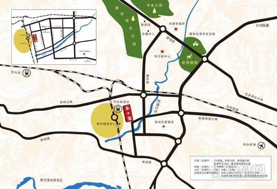 海富·城市印象交通图
