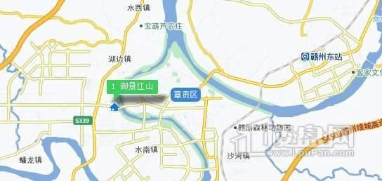 御景江山交通图