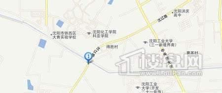 荣盛锦绣天地交通图