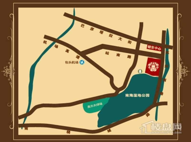 顺鑫美域交通图