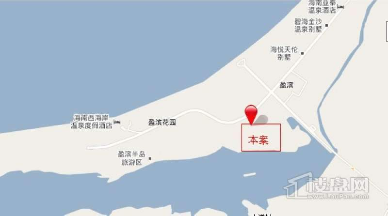 半岛壹号位置图