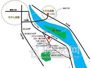 御江帝景交通图