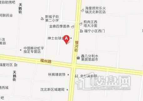 逸景盛熙城交通图