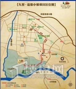 九里温泉小镇交通图