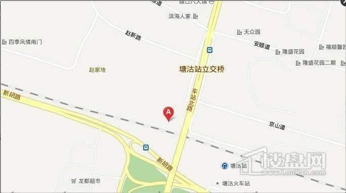 紫竹华庭位置图