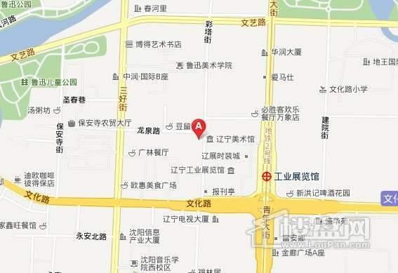 霍尔寓所交通图