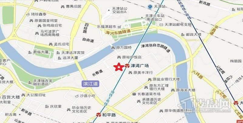 金融街和平中心位置图