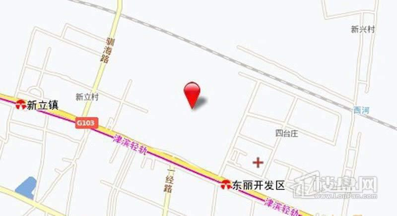 万科金域华府锦苑位置图