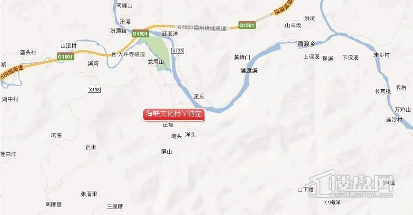 海峡文化村交通图