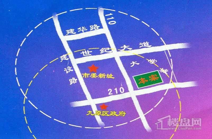 九元兴都交通图