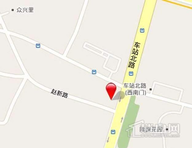 京达明居交通图