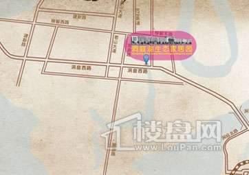 洞庭湖生态家居园交通图