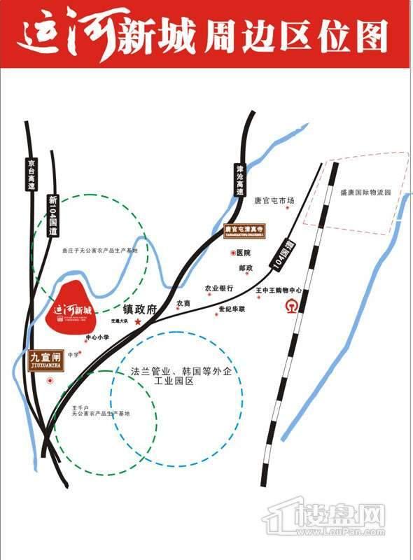 运河新城位置图