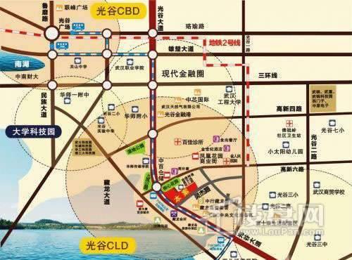 兆麟育龙湾交通图