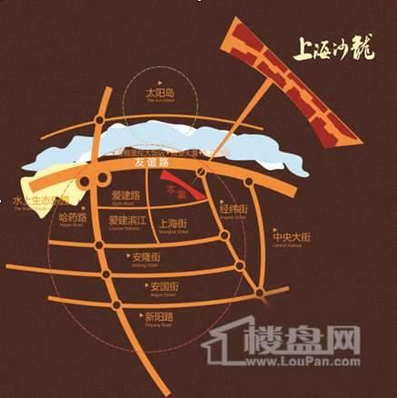 上海沙龙交通图