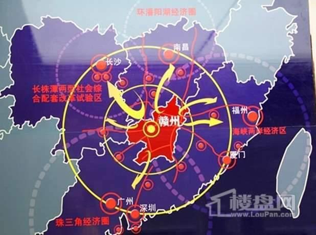 中国南方金属产业商贸物流城交通图