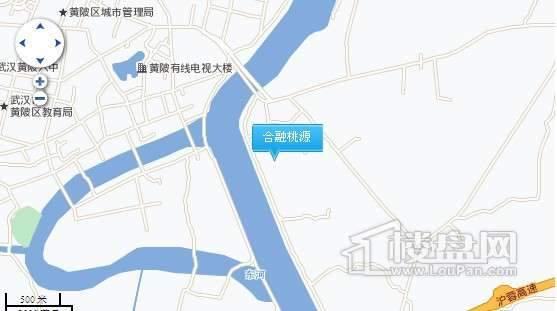 合融桃源交通图