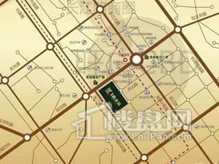 新城尚东区二期交通图