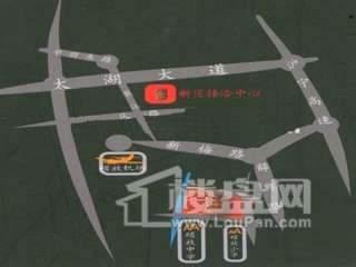 吉祥国际花园交通图