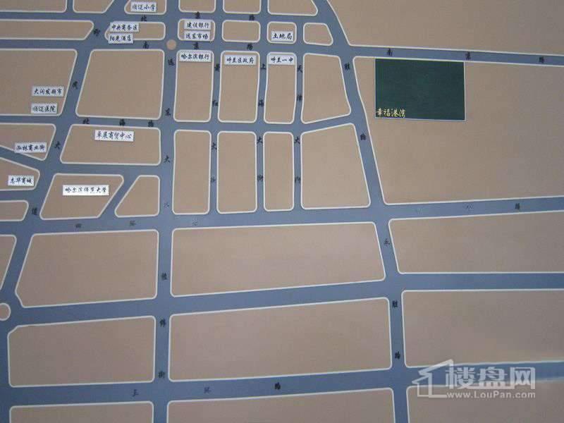 幸福港湾交通图