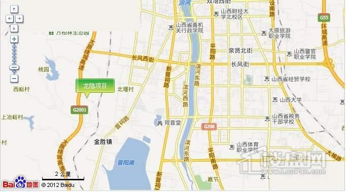 龙隐交通图