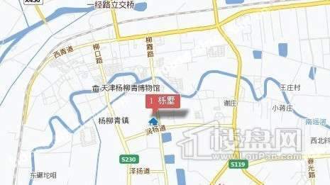 栎墅交通图