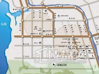 龙湖滟澜山交通图
