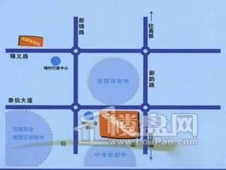 香格梅里公馆公寓交通图