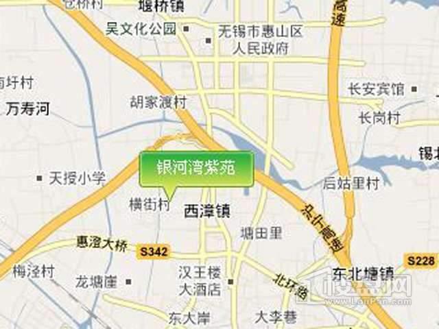 银河湾紫苑交通图
