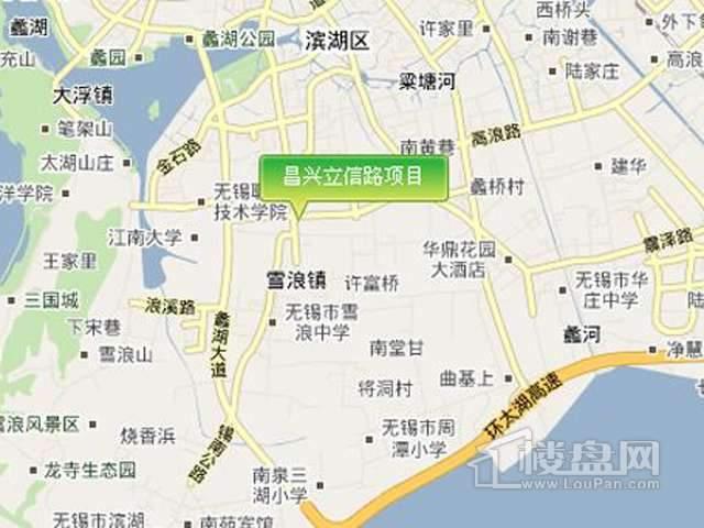 昌兴国际金融大厦交通图