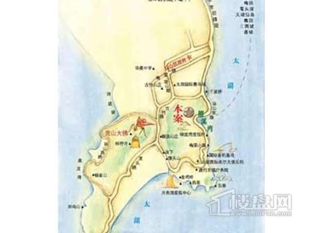 弘阳三万顷交通图
