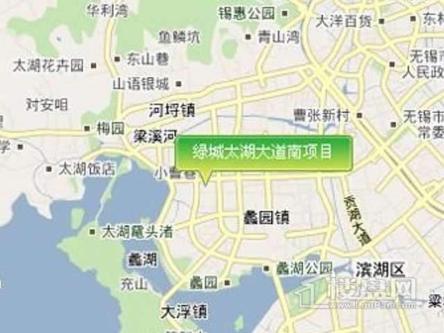 绿城蠡湖香樟园交通图