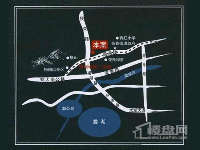 荣御山庄交通图